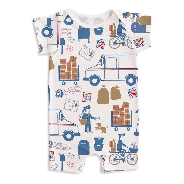 Special Delivery Romper by Winter Water Factory