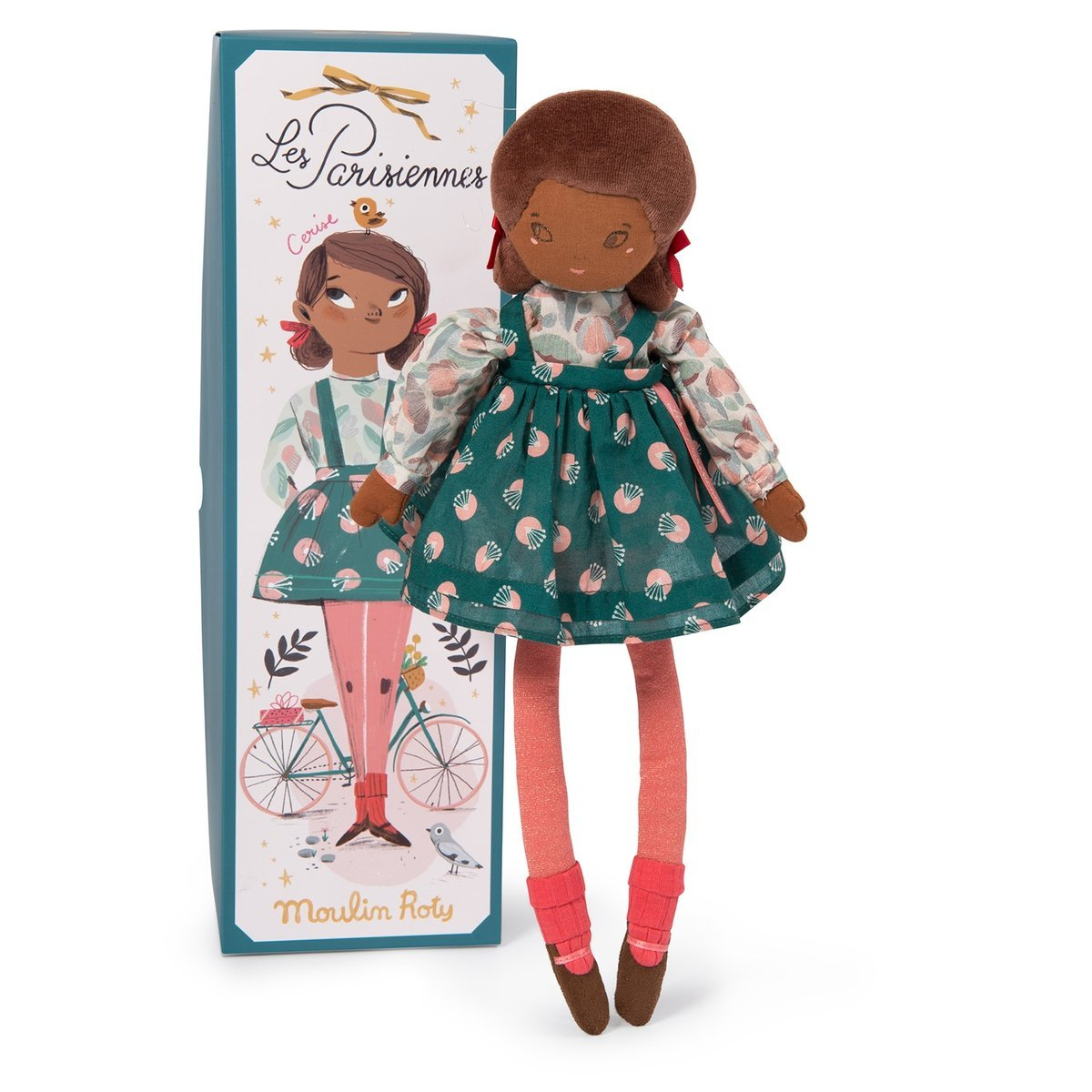 Mademoiselle Cerise Doll by Moulin Roty