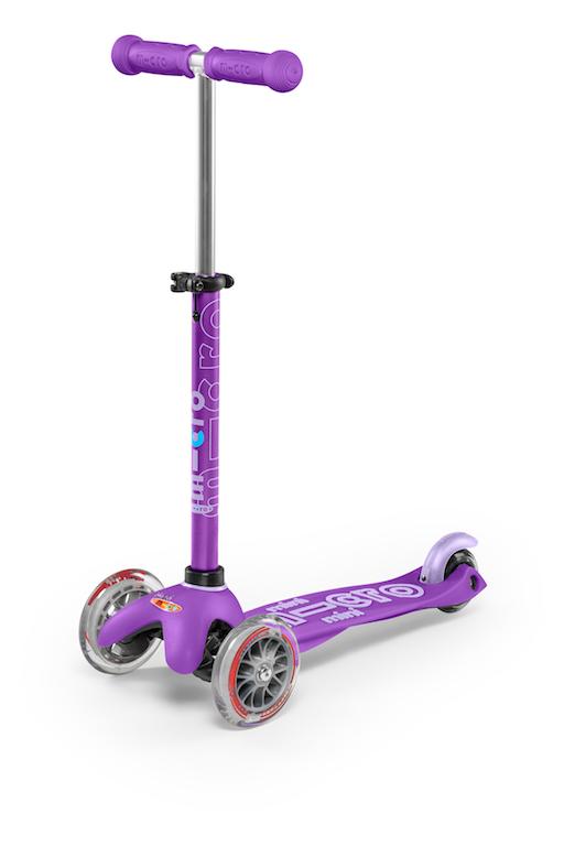 Mini Deluxe Scooter - Purple by Micro Kickboard