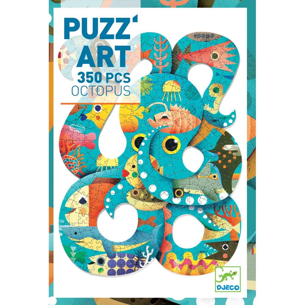 Puzz'Art - Octopus Puzzle by Djeco