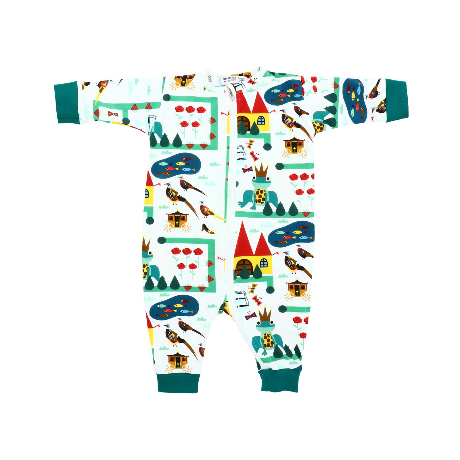 Royal Kingdom Romper by Raspberry Republic