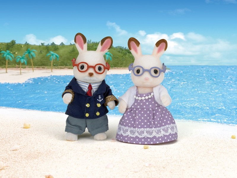 Hopscotch Rabbit Grandparents by Calico Critters