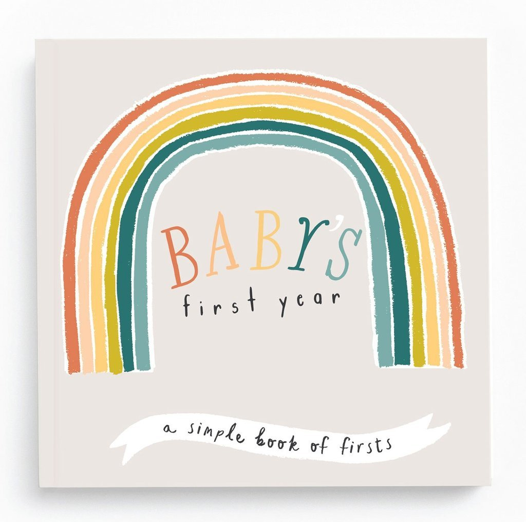 Baby's First Year Book - Little Rainbow by Lucy Darling
