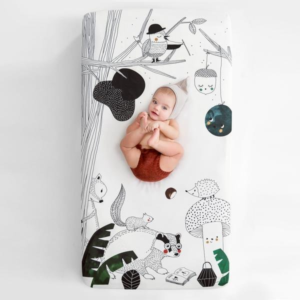 Crib Sheet - Woodland Dreams by Rookie Humans