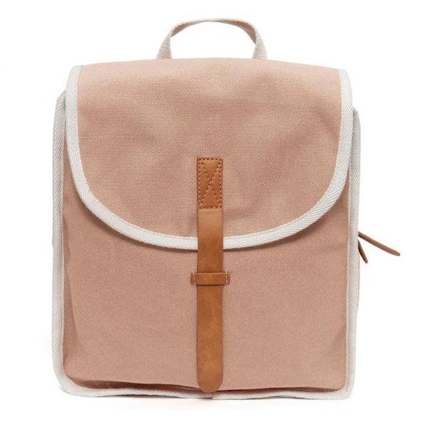 Cotton Backpack - Dawn Rose by Petit Monkey