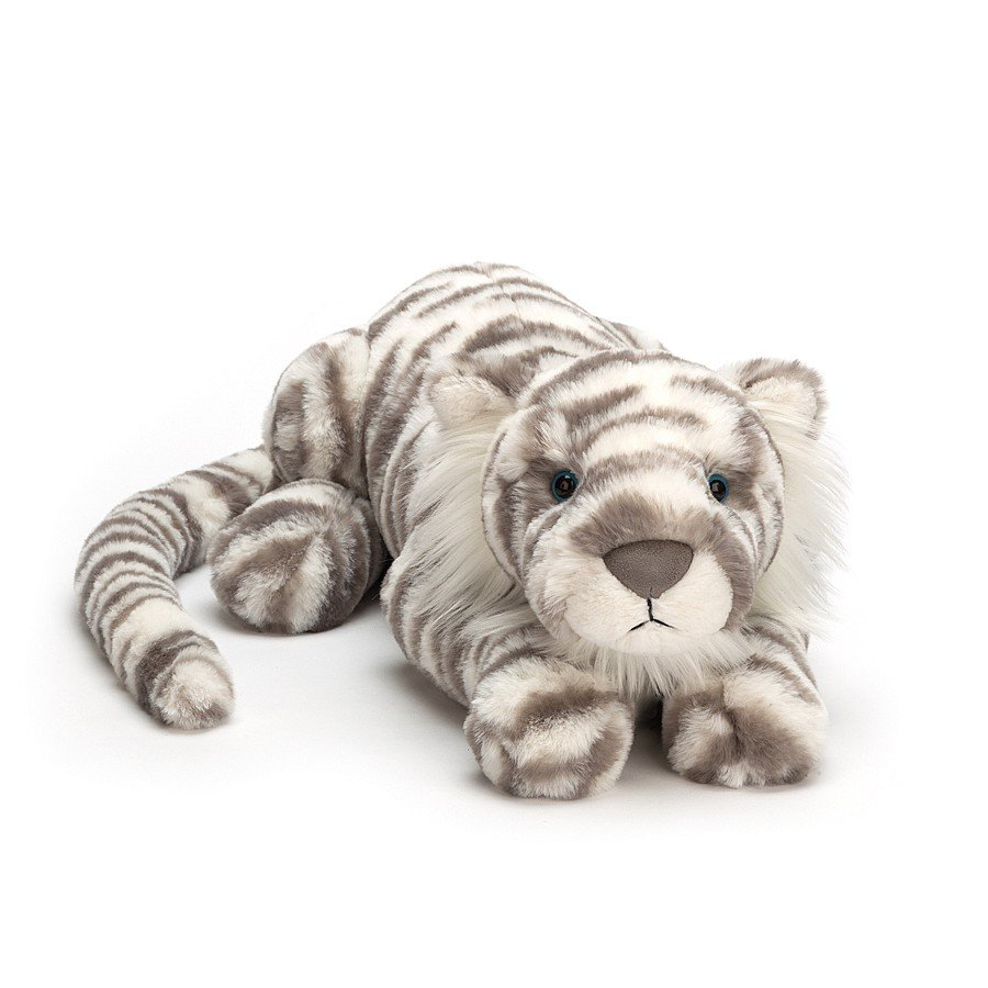 Sacha Snow Tiger by Jellycat