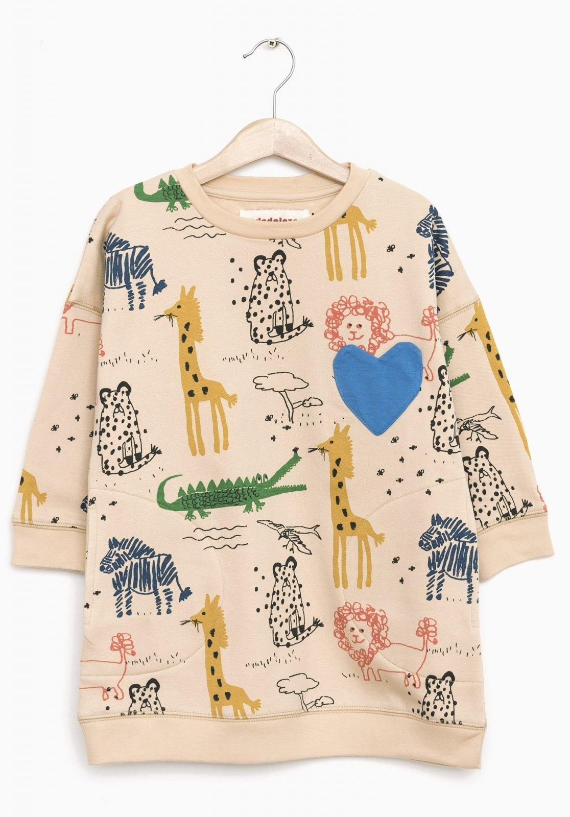 I Heart Animals Dress by Nadadelazos