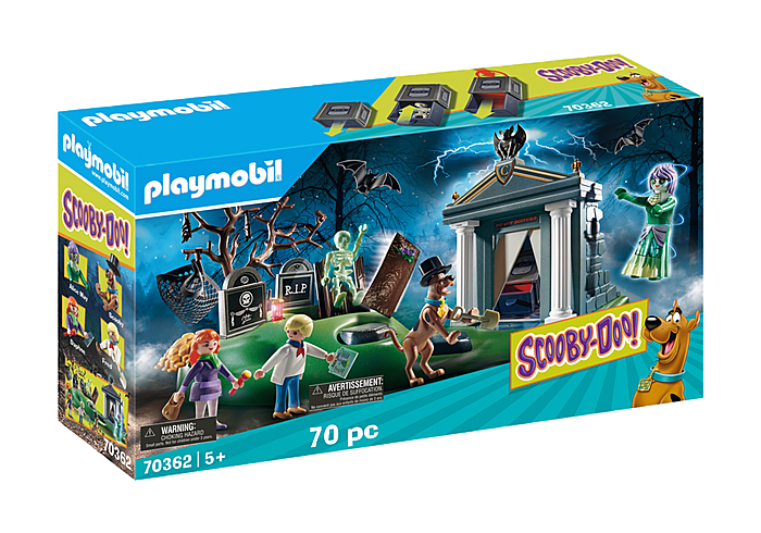 playmobil / scooby-doo! adventure in the cemetary