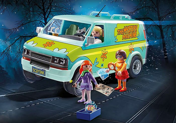 Scooby-Doo! Mystery Machine 70286 by Playmobil