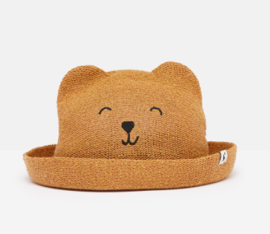 Straw Animal Hat by Joules