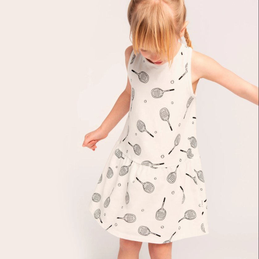 Racquet Club Dress by Miles Baby