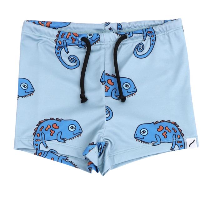Chameleon Cutie Swim Shorts by CarlijnQ