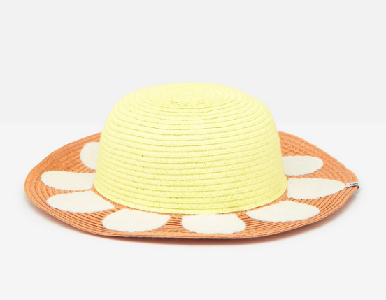 Sunflower Sun Hat by Joules