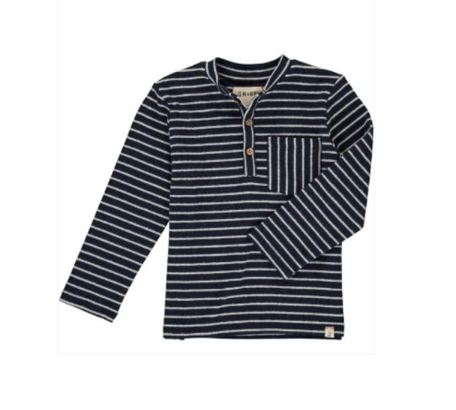 Navy Striped Shirt by Me & Henry