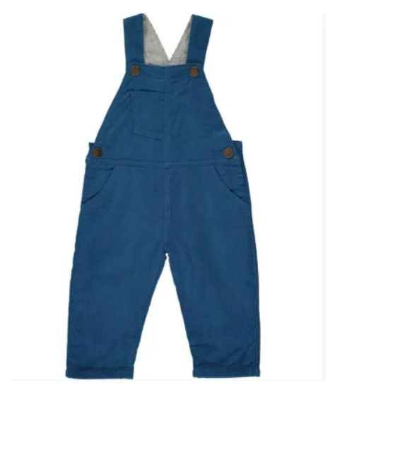 Blue Corduroy Overalls by Henry & Me