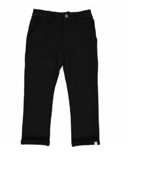 Black Jersey Pants by Me & Henry