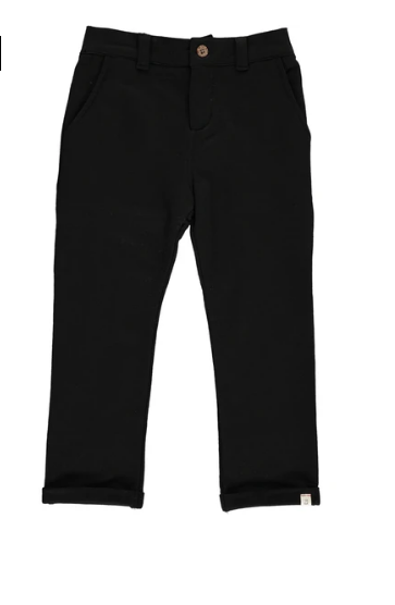 Baby Black Jersey Pants by Me & Henry