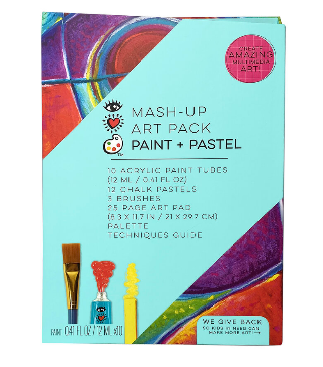 Mash-Up Art Pack - Paint & Pastel by I Heart Art