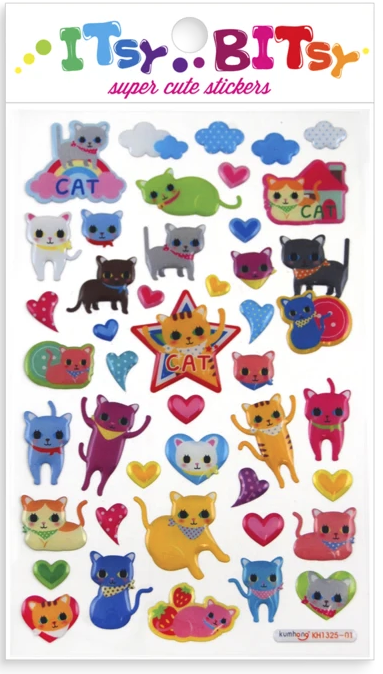 Cat Stickers by Ooly