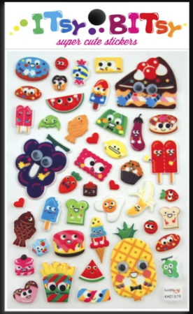 Food Stickers by Ooly