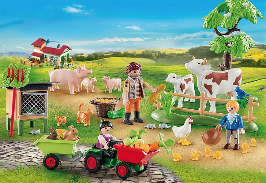 Farm Advent Calendar 70189 by Playmobil