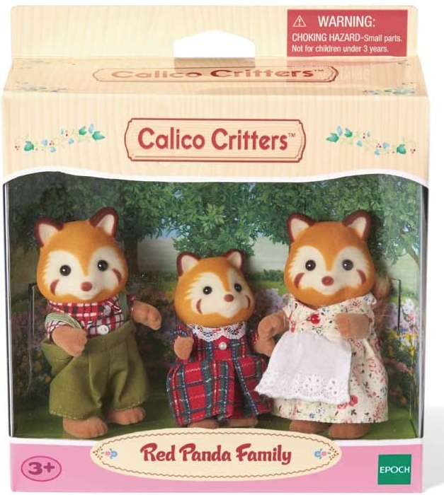 Red Panda Family by Calico Critters