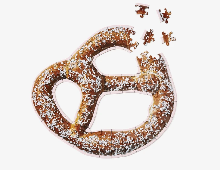 Little Puzzle Thing - Soft Pretzel by Areaware