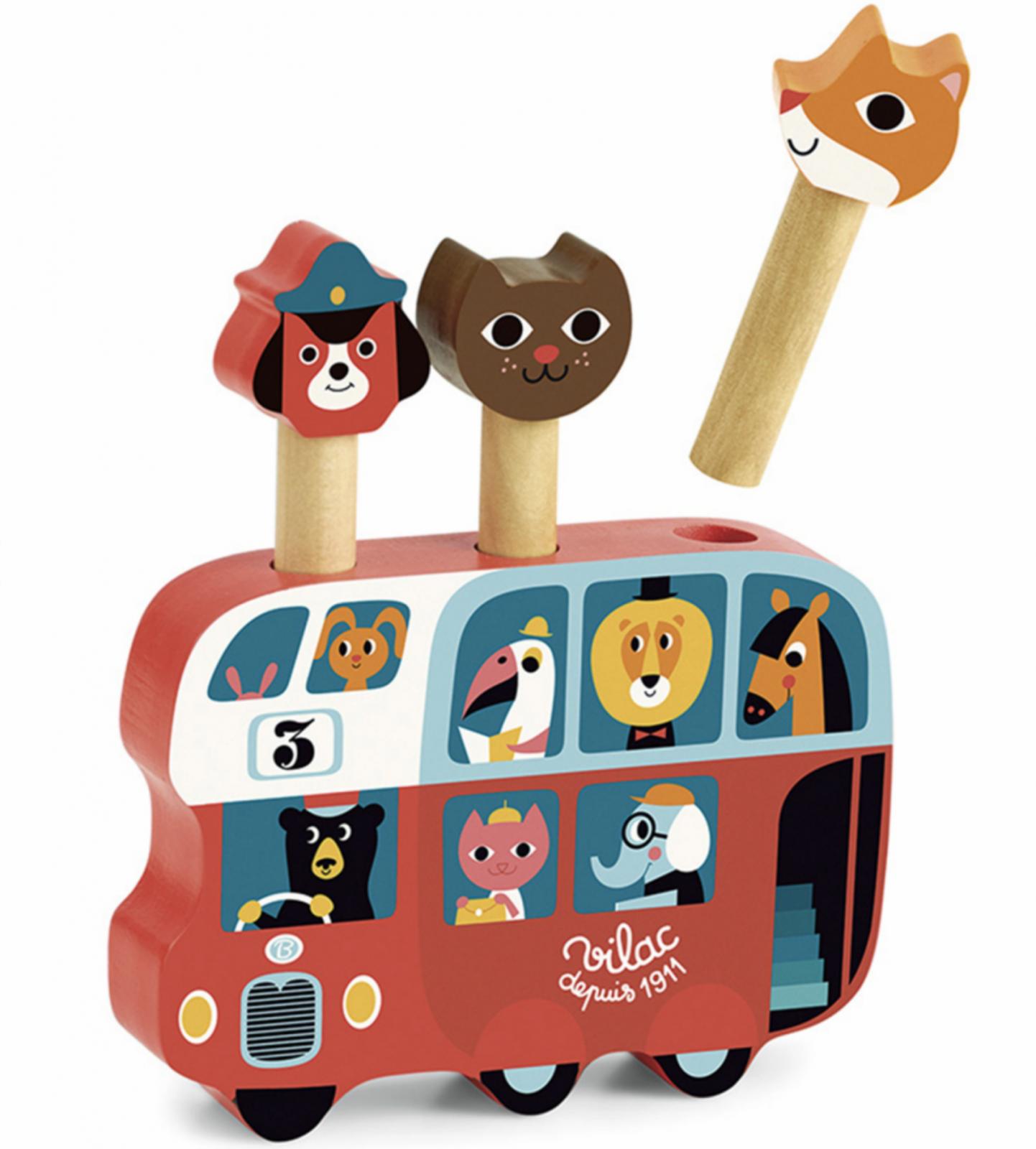 Pop Up Bus by Vilac