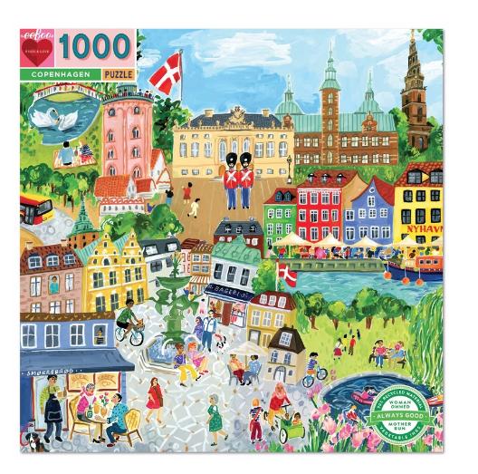 1000 Piece Copenhagen Puzzle by Eeboo