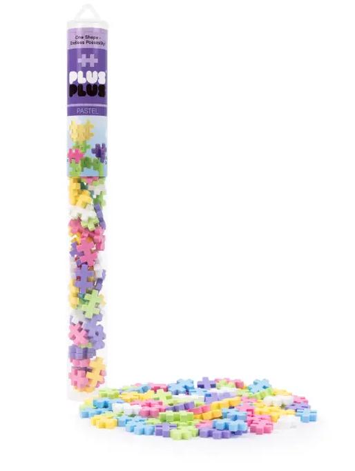 Pastel 70 Piece Tube by Plus Plus