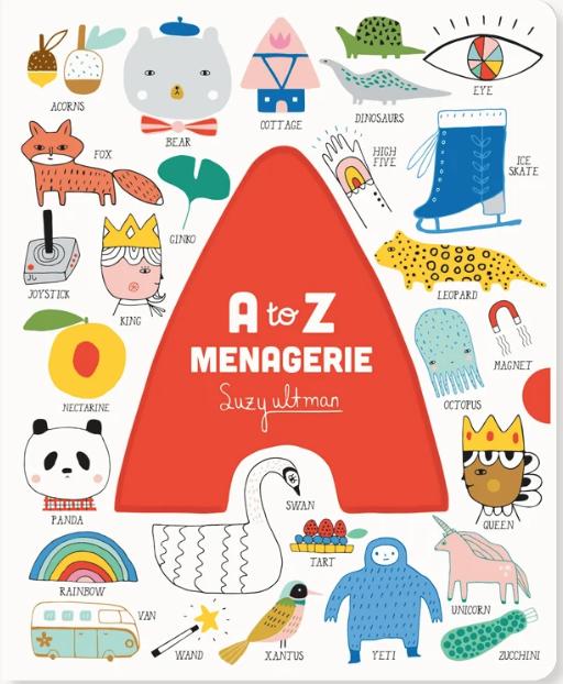 A to Z Menagerie by Suzy Ultman