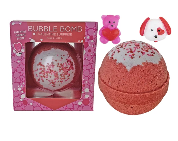 Bubble Bomb - Valentines Day Suprise by Two Sisters Spa