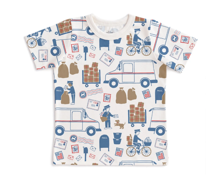 Special Delivery Kids Tee by Winter Water Factory
