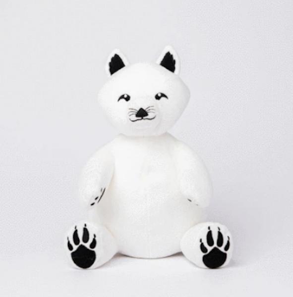 Nanook The Arctic Fox by Sustainimals