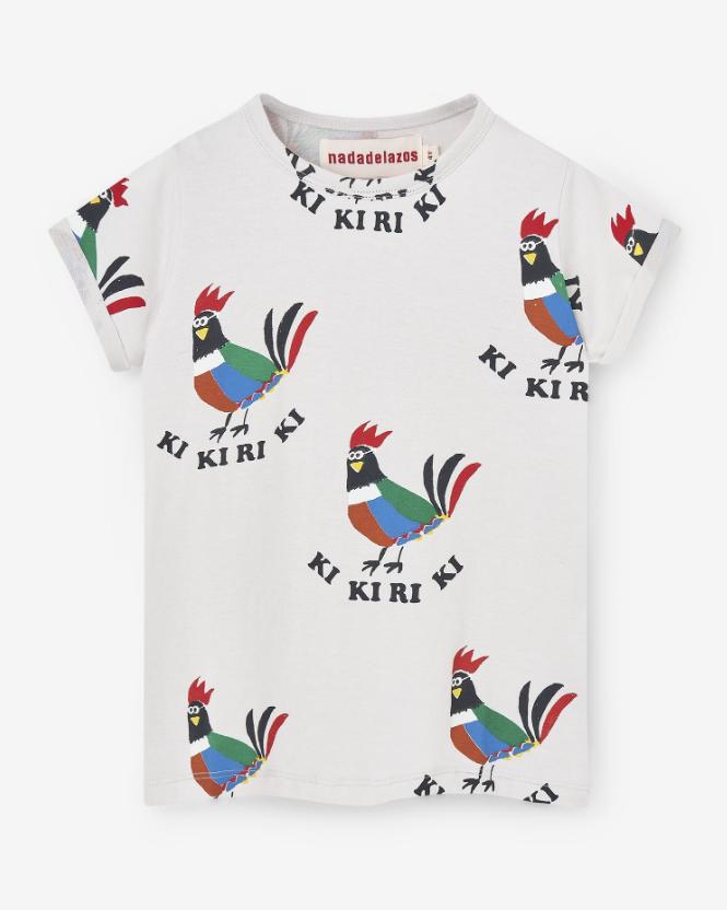 Ki Ki Ri Ki Rooster T-Shirt by Nadadelazos