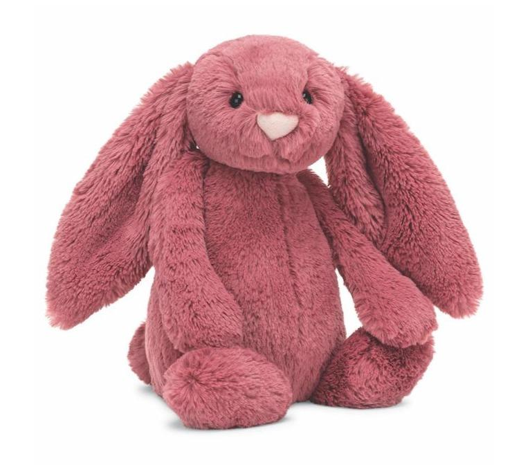 Bashful Bunny - Dusty Pink by Jellycat