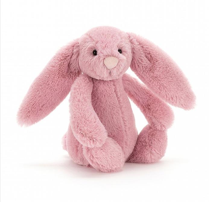 Small Bashful Bunny - Tulip Pink by Jellycat