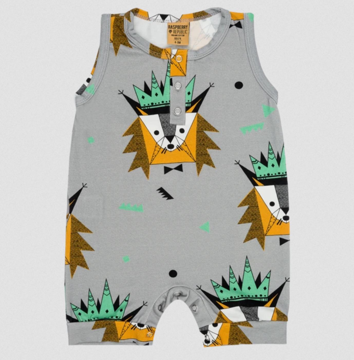 Mr. Bobcat Jumpsuit by Raspberry Republic