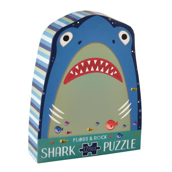 Shark 12 Piece Puzzle by Floss & Rock