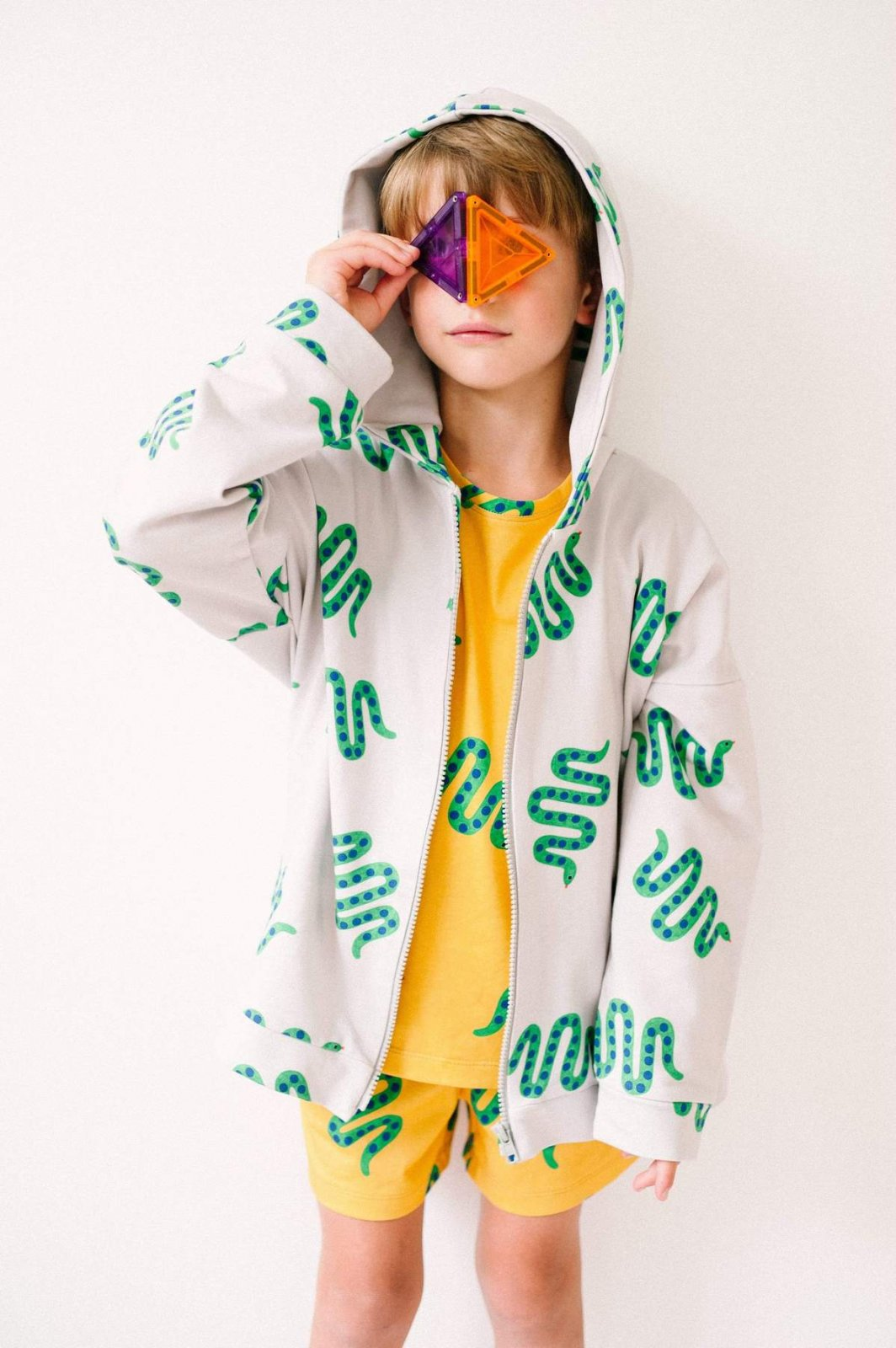 Squiggle Snakes Hoodie by Don't Grow Up