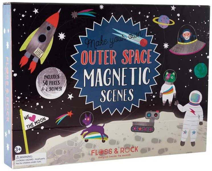 Magnetic Play Scene - Outer Space by Floss & Rock