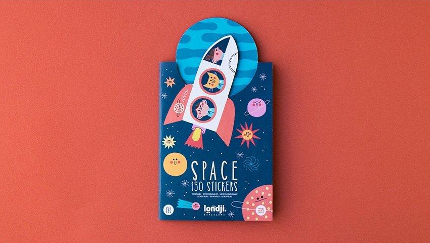 Space Stickers by Londji