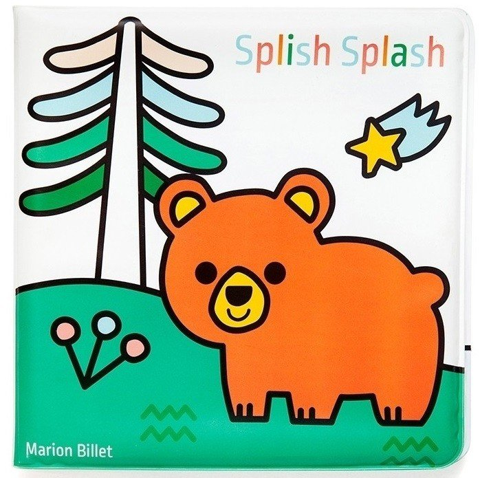 Magic Bath Book- Splish Splash Land by Petit Monkey