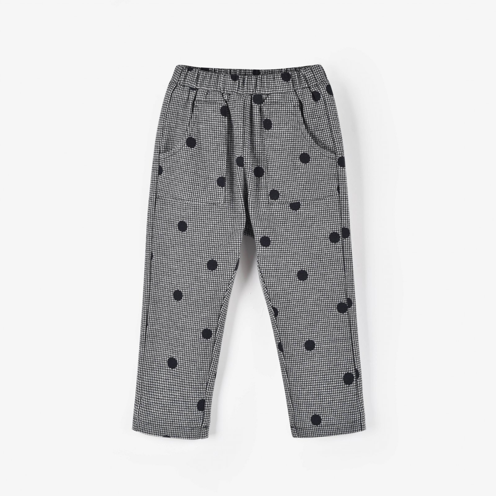 Spotted Houndstooth Pants by Aimama