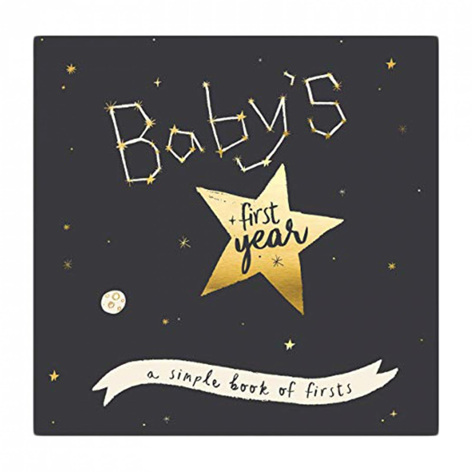 Baby's First Year Book- Stargazer by Lucy Darling