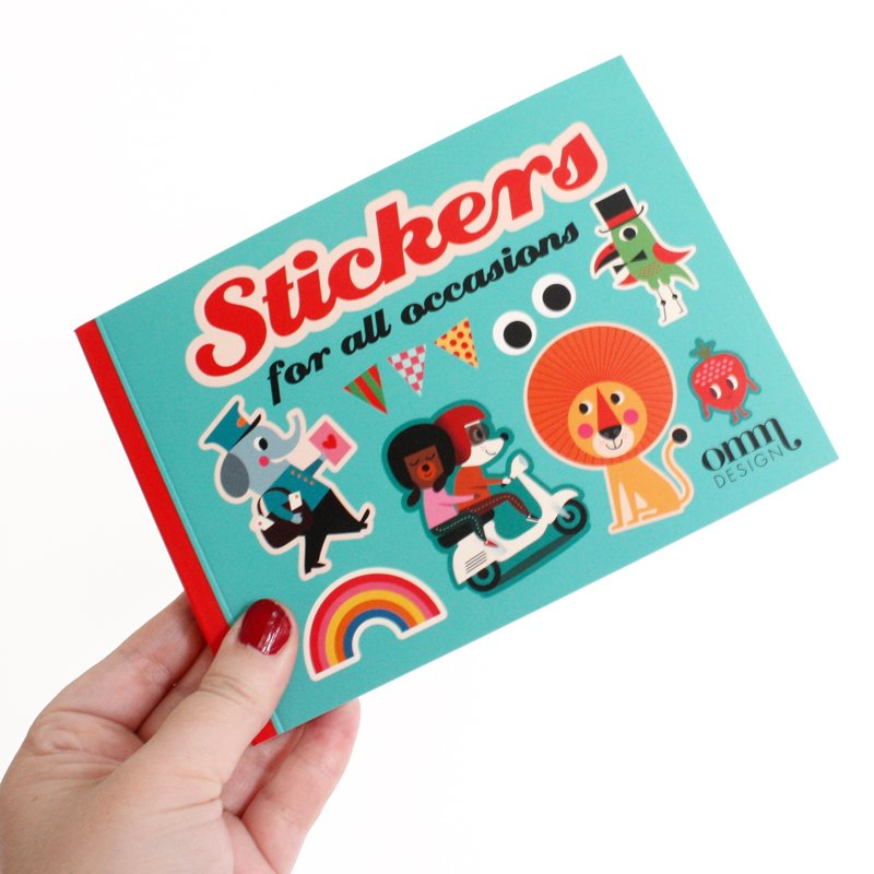 Stickers for All Occasions by OMM Design
