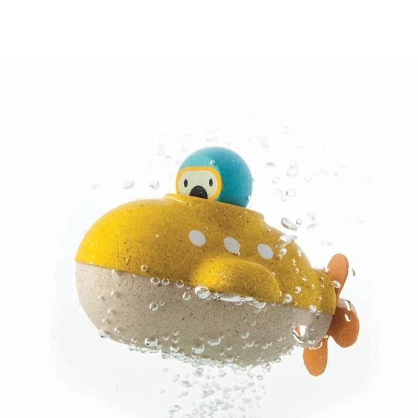 Submarine Bath Toy by Plan Toys