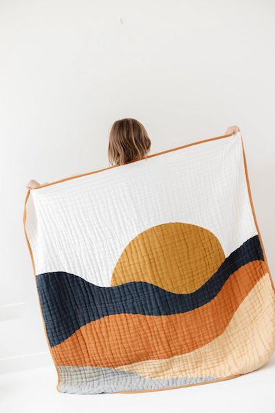 Sunset Quilt by Clementine Kids