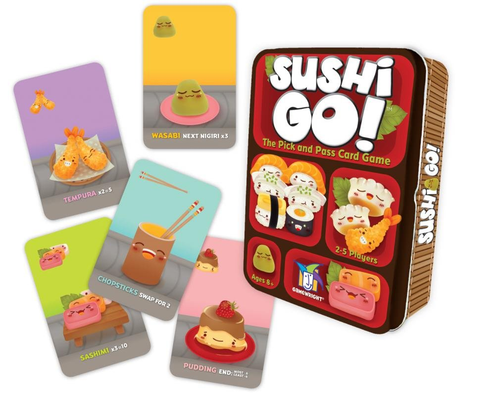 Sushi Go by Gamewright