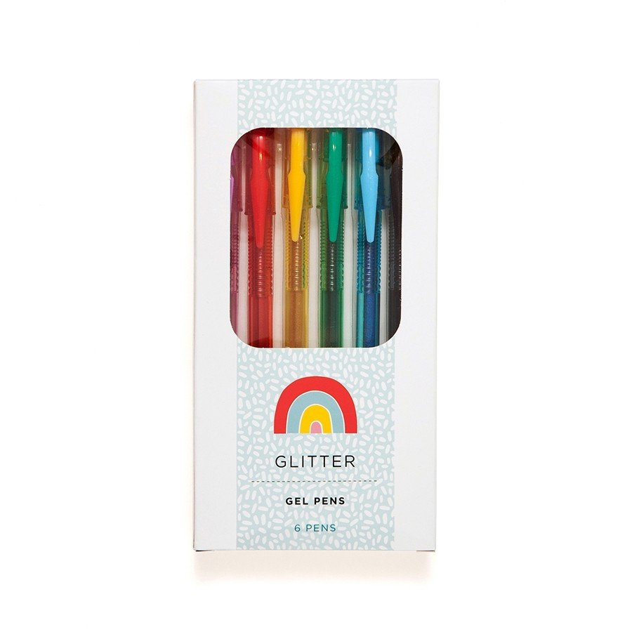 Suzy Ultman Glitter Gel Pens by Petit Monkey